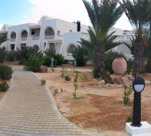 Gartenpanorama rund um den Pool SunConnect Djerba Aqua Resort