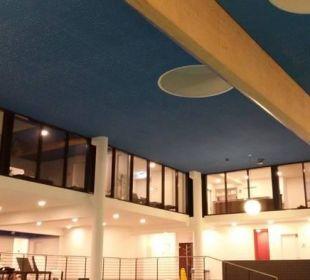 Obere Etage Ruheräume bei der Sauna Carat Golf & Sporthotel Residenz