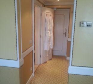 Flur im Zimmer Hotel Sacher