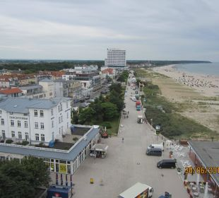 Blick vom Teepott zum Hotel Hotel Neptun