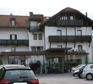 Vorderansicht Hotel Bon Alpina