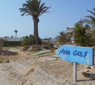 Minigolf Anlage Hotel Fiesta Beach Djerba