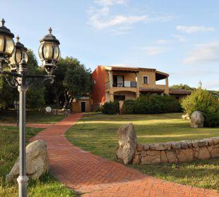 Eines der Häuser Hotel Parco Degli Ulivi