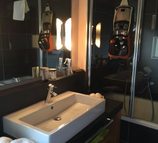 Badezimmer Hotel La Maiena Meran Resort