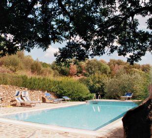 Blick vom Grillplatz Sardafit Ferienhaus Budoni