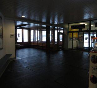 Eingangshalle Glacier Hotel Grawand