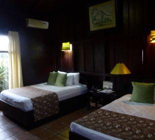 Ausschnitt Zimmer Hotel Montana de Fuego