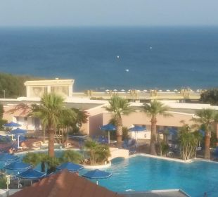Widok z balkonu Hotel Mitsis Rhodos Village & Bungalow
