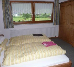 Schlafzimmer Apartments Schartental