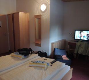 Doppelzimmer im Zubau andere Seite Hotel Fischerhof Glinzner
