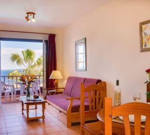 Salón con vistas Hotel Oasis San Antonio