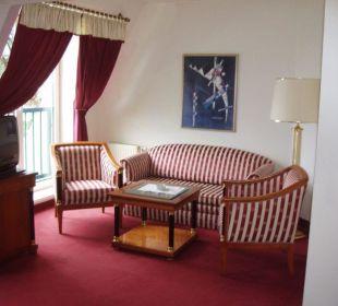 Sitzecke im Studio Eremitage Hotel Panhans