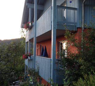 Giebel-Balkons Landhaus Korte