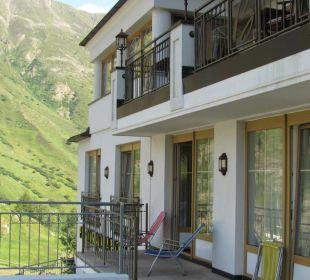 Aussenterrasse Hotel Bellevue & Austria