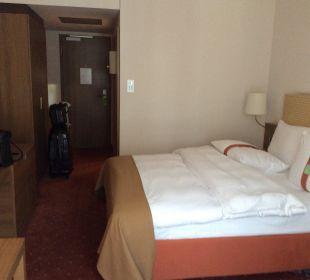 Doppelbett Hotel Holiday Inn Nürnberg City Centre