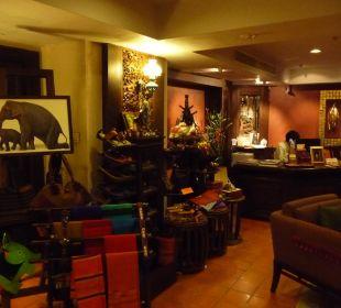 Foyer mit Rezeption Hotel Siam Heritage