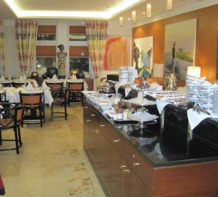 Frühstücksraum Small Luxury Hotel Das Tyrol