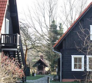 Teilansicht mit ehemaligen Backofen NaturApartments & LandHaus Stauensfließ