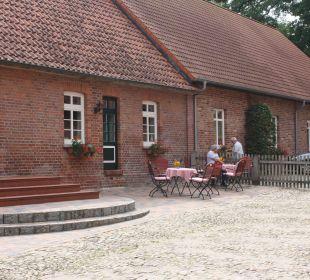 Eingang zum Bistro Familotel Landhaus Averbeck