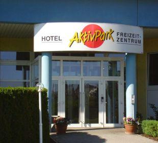 Eingang Sporthotel Aktivpark Güssing