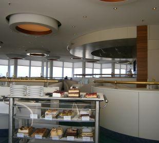 Kuchenauswahl Sky Bar Hotel Neptun