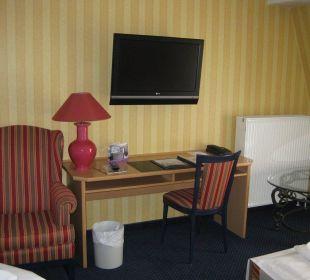 Wohnzimmer Suite Europa Hotel Kühlungsborn