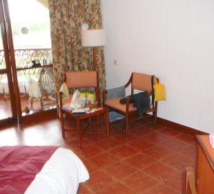 Sitzecke Hotel Holiday Inn Resort Goa