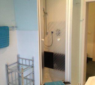 Badezimmer AltstadtHotel an der Werra