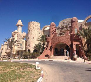 Entrée de l'hotel Rimel Beach Resort  (existiert nicht mehr)