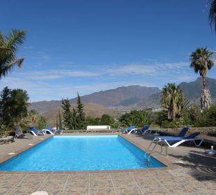 Panoramablick auf den Calderarand Bungalows El Paradiso