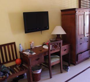 TV, Schreibtisch... VIK Hotel Cayena Beach Club