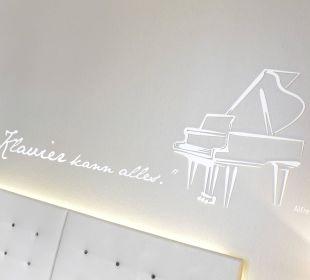 Wall tattoo Hotel Schweizerhof Luzern