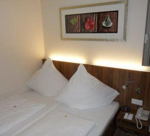 Ansicht Zimmer 628 Best Western Hotel City Ost