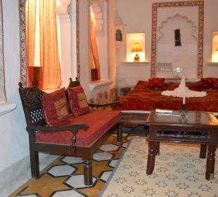 Schlafzimmer Hotel Deogarh Mahal