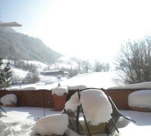 Ausblick von der Terrasse Pension Alpenblick