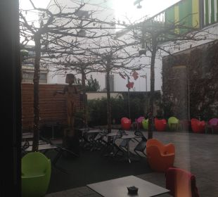 Ausblick zum Kunsthain art & business hotel