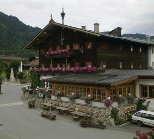 Restaurant mit Wintergarten und Terrasse Landgasthof Reitherwirt & Jagdhof Hubertus