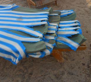 Auflagen der Strandliegen
