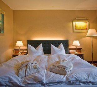 Schlafzimmer in der Residenz Schlosshotel Wendorf