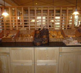 Brot und Semmeln beim Frühstück Wohlfühlhotel Falzeben