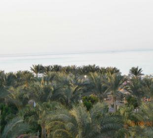 Blick vom Balkon Festival Le Jardin Resort (geschlossen)