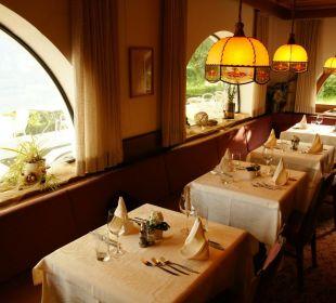 Restaurant mit Blick in die Natur