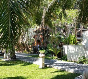 Außenbereich Hotel Griya Santrian