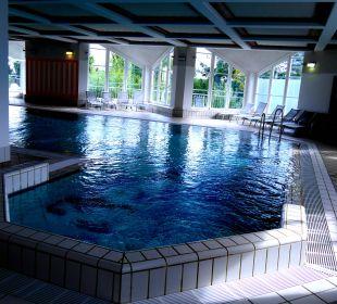 Ausschnitt vom Becken im Schwimmbad Hapimag Resort Winterberg