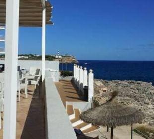 Traumhafter Blick von der Terasse JS Hotel Cape Colom