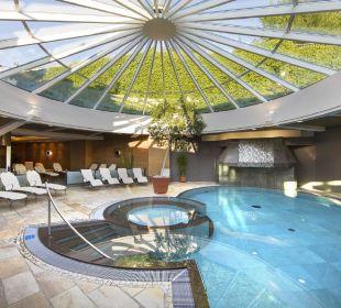 Hallenbad neu renoviert Alpina Family, Spa & Sporthotel