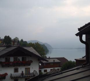 Ausblick vom Balkon Romantik Hotel Im Weissen Rössl