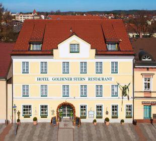 Vorderansicht Hotel Goldener Stern
