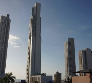 Blick vom Balkon Hotel Centroamericano