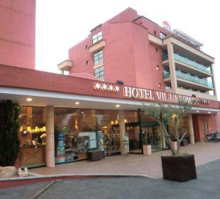 Das Hotel Villa Romana